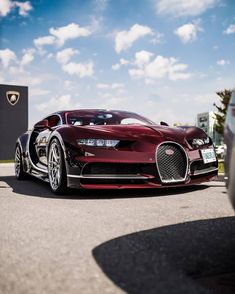 Rate This Gorgeous Red Chiron 1 to 100 Classic Sports Cars, Bugatti Chiron, Love Car, Rally Car, Expensive Cars, Amazing Cars, Awesome, Hot Cars, Exotic Cars