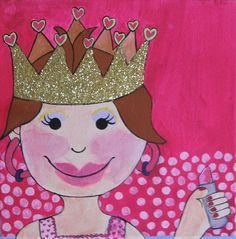 Wat vinden kleine meiden nou mooier dan zich aankleden als een prinsesje? Dit idee voor een kinderfeestje is dan ook heel geschikt voor meid...