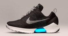 Nike lanza las primeras zapatillas con cordones automáticos