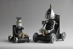 <p>A collection of unique and awesome sculptures by Brain Marshall.</p>