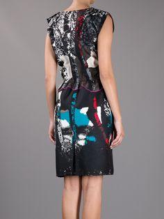 BALENCIAGA - Graphic Print Dress
