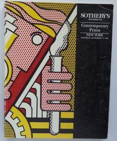 Contemporary Prints Sotheby's Auction Catalog 6101 Nov 1990 New York