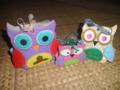 3D Owl Ornament Sizes 7x5-12x8-10x6 These know it alls, take about 30 minutes  to  finish!