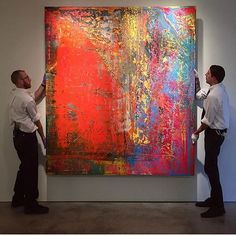 Regram Sotheby's... again! Wow... now this is beautiful! #gerhardrichter #sothebys #contemporaryart #want