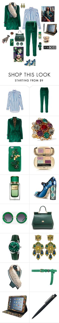 """""""Working w/ style"""" by mbarbosa ❤ liked on Polyvore featuring MSGM, Dolce&Gabbana, Gucci, Bouchra Jarrar, Dorothy Perkins, Marvel and John Lewis"""