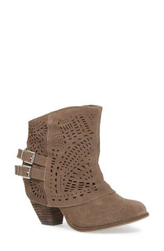 Naughty Monkey 'Love Story' Cutout Bootie (Women) available at #Nordstrom