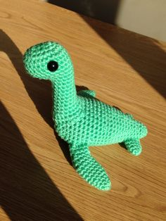 Loch Ness Monster - Nessie Crochet Amigurumi Pattern by CallistoCraft on Etsy https://www.etsy.com/listing/220919182/loch-ness-monster-nessie-crochet