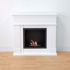 Freemantle Wall Standing Bio-Ethanol Fireplace