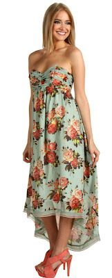 Chic Floral Maxi Dress