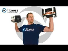 At Home Upper Body Strength Workout - Guaranteed Muscle Burnout - YouTube
