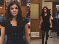 Aria Montgomery- this reminds of a dress i had when i was a little bit younger.