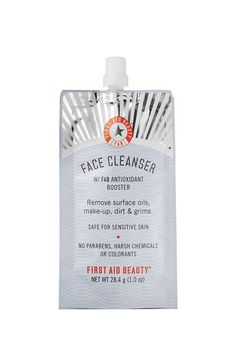 The Best Travel Size Beauty Products Under $10  #refinery29  http://www.refinery29.com/cheap-travel-size-products#slide-13  This cleanser removes makeup and deep cleans even the most sensitive skin without irritation, plus the pouch fits nicely in the smallest of cosmetic cases. ...