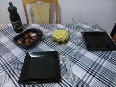 Drumetti, arroz e suco de uva integral (Fevereiro 2014)