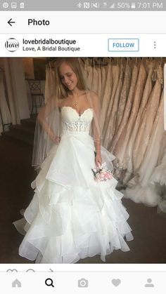 Dramatic High Waist Wedding Gown With Embellished Bodice Detailing Style 8846 By Justin Alexander Dresses Pinterest