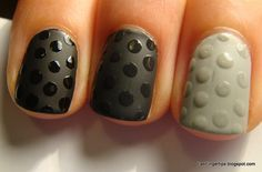 Fab Fingertips: Polka Dot Nails Tutorial Part 2 - The Manicures