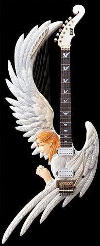 ESP Custom Shop Angel Harp Guitar