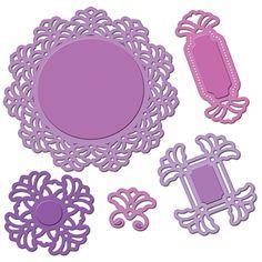 Spellbinders Vintage Lace Motifs S5-109