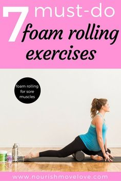 Extra Off Coupon So Cheap Speed up muscle recovery and relieve hip knee and back pain with these 7 must-do foam rolling exercises for sore muscles Weight Lifting Motivation, Weight Lifting Workouts, Fitness Motivation Pictures, Post Workout Stretches, Lower Ab Workouts, Easy Workouts, Roller Stretches, Knee Exercises, Stretching Exercises