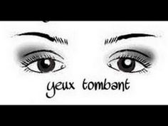 comment faire un trait d'eyeliner sur paupières tombantes - YouTube