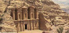 La légendaire citée de Pétra en Jordanie
