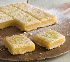 (Lime Curd Bars with Coconut Crust)    Limes have a distinctive sweetness that tempers their tartness — a flavor that holds up well in desserts and cocktails. Use a reamer to extract as much juice as possible; a rasp grater is essential for obtaining lime zest without any bitter pith, as their rind is very thin. CLICK THIS PIN to visit the BEST SITE for Recipes.  #Recipes