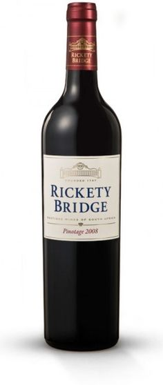 Rickety Bridge Pinotage 2011 Wine from South Africa seeking for distributors - Beverage Trade Network