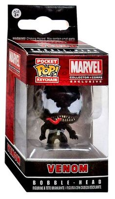 2015 October's Marvel Pocket POP Keychain Venom FunKo…