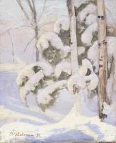 Talvimaisema, 1932
