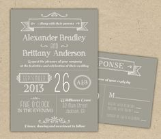 free printable wedding invitation template  free printable, wedding cards