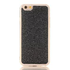 Glitter hohe einfach und elegant Leder Tasche mit golder Kette für Iphone7/7plus