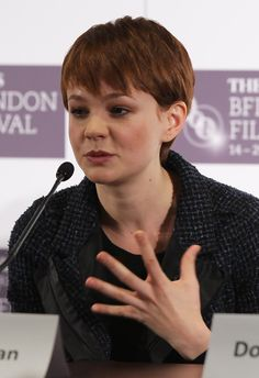 Ingeniously talented Carey Mulligan ...Magnificent Hairstyles...