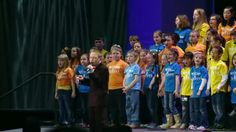 """Blind/Autistic boy sings """"Lean On Me"""" w/ help of a children's chor=ir- He is awesome... one of my Fav '70's songs- He nails it!!"""