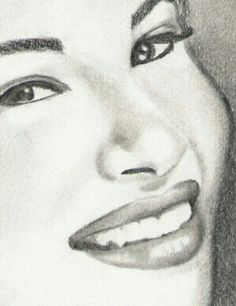 Selena fans know how to draw the best pics of her.....