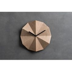 Every interior can benefit from warm, wooden tones to fire up those cold winter nights. What better way to inject the rustic than with a wooden wall clock? Unique Wall Clocks, Wood Clocks, London Clock, Origami, Clocks For Sale, Wall Fans, Heart Wall, Wooden Walls, Danish Modern