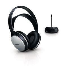 Philips SHC5100/10 Kabelloser HiFi-Kopfhörer schwarz: Amazon.de: Elektronik