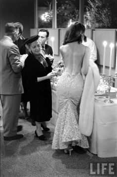 "Vickie Dougan ""the back"" original inspiration for Jessica Rabbit and her amazing backless dresses"