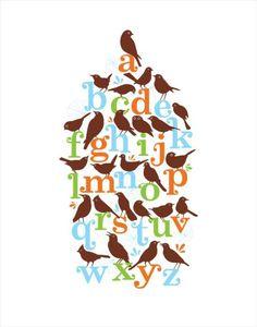 Alpha-Bird Poster