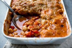 NYT Cooking: Provençal Tomato and Bean Gratin