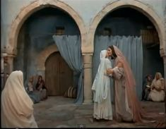 Elizabeth and Mary of Nazareth in Jesus