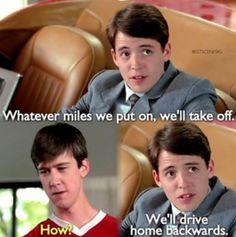 Ferris bueller's day off.
