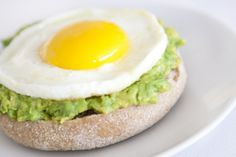 Avo Egg English Muffin