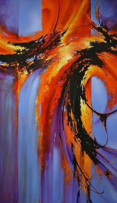 Pintura abstracta Más Más