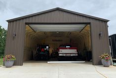 Metal Garages, Steel Buildings, Insulation, Shed, Outdoor Structures, Outdoor Decor, Home Decor, Decoration Home, General Steel Buildings