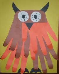 owl arts and crafts for preschoolers