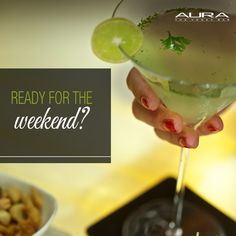 Get weekend ready with over 55 kinds of Vodka at Aura, the Vodka Bar at The Claridges, New Delhi!