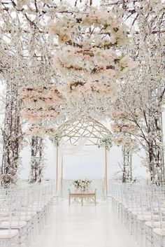 Wedding altar decorations - I like these romantic weddings ideas romanticweddingsideas Wedding Altar Decorations, Wedding Altars, Wedding Themes, Wedding Colors, Wedding Flowers, Rustic Wedding, Stage Decorations, Decor Wedding, Beautiful Wedding Venues