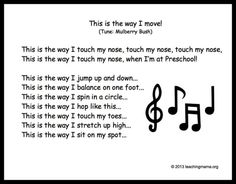 10 Preschool Transitions– Songs and Chants to Help Your Day Run Smoothly - Actividades de Kindergarten Para Niños Kindergarten Songs, Preschool Songs, Preschool Classroom, Preschool Learning, Kids Songs, Movement Songs For Preschool, Preschool Circle Time Songs, Baby Songs, Action Songs For Preschoolers