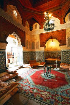 A Brief History of Riads, Morocco's Exquisite Accommodation|Pinterest:@theculturetrip