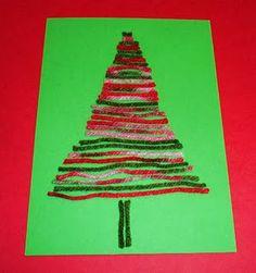 Yarn trees...
