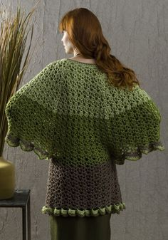 *Free Crochet Pattern: Greenport Dolman Jacket designed by Tammy Hildebrand